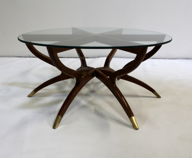 Spider Coffee Table Mid Century Modern Collapsible Spider Leg Coffee Table Dallas Moderne