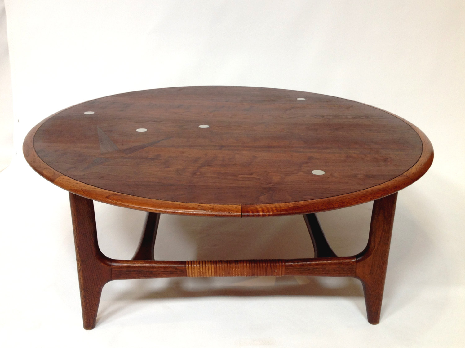 Danish Modern Coffee Table | Mid Century Modern Atomic Style Coffee Table  By Lane