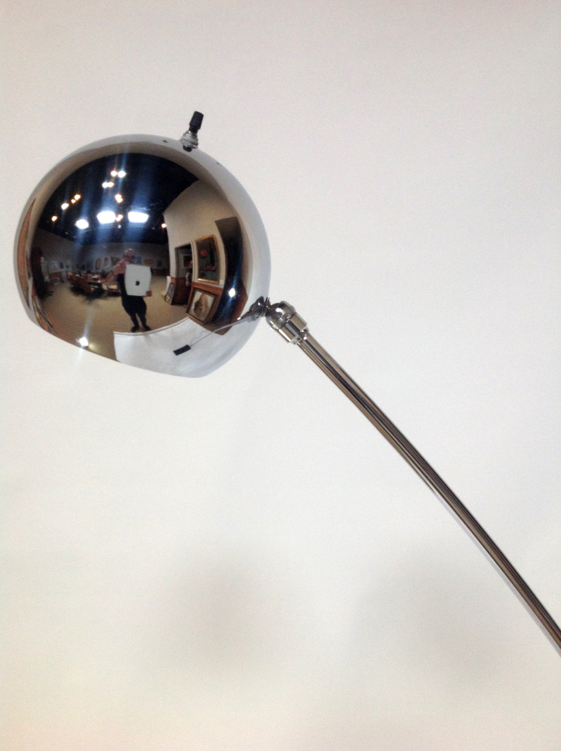 Contemporary Floor Lamps Vintage Chrome Arc Floor Lamp