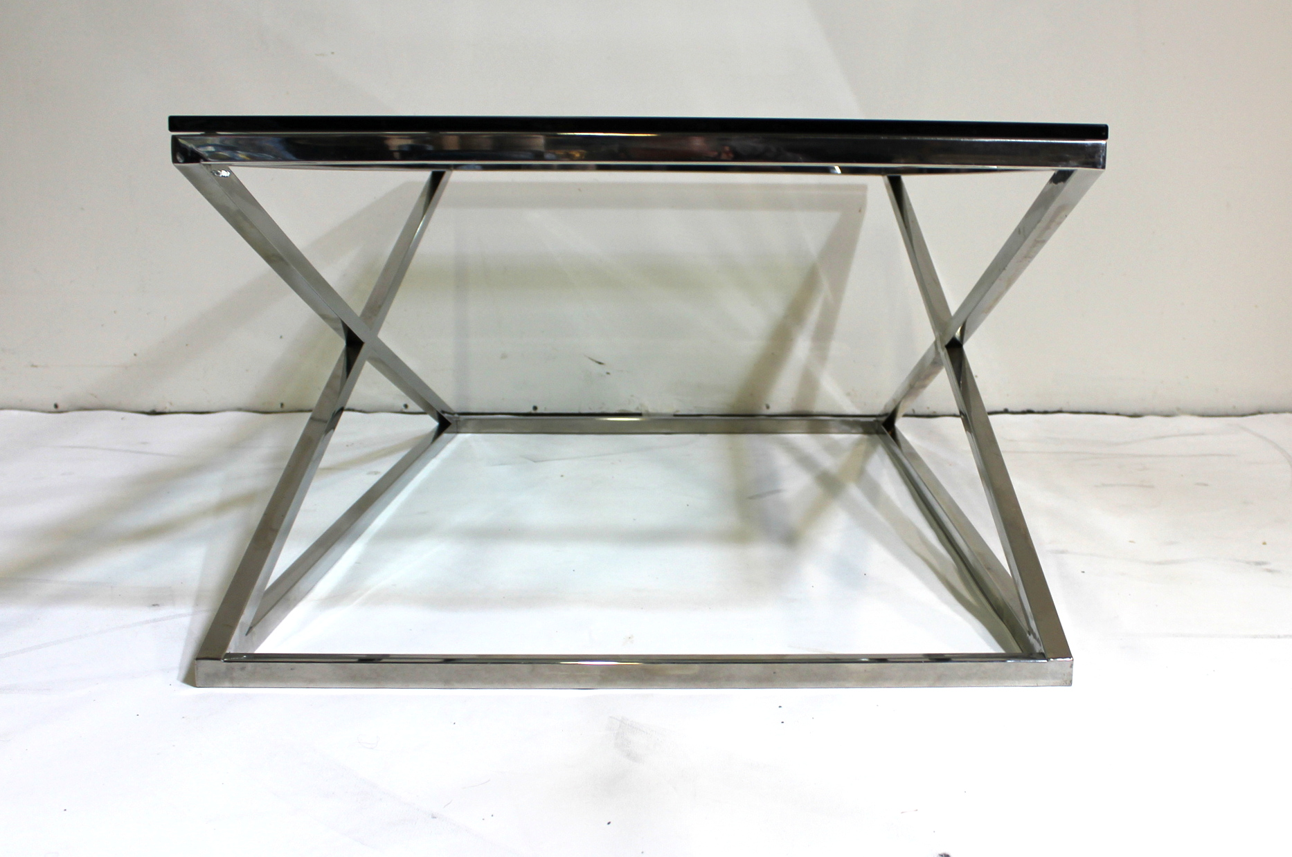 Modern glass coffee table square glass coffee table for 52 glass table top